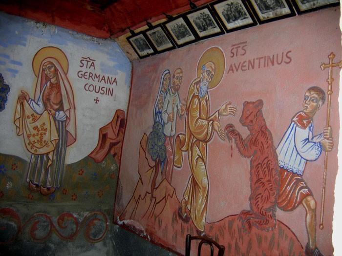 Granges d'Astau : Saint Aventinus