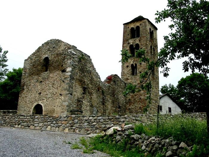 Église à Mérens-d'en-haut