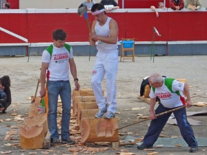 Basque sports derive from everyday rural life
