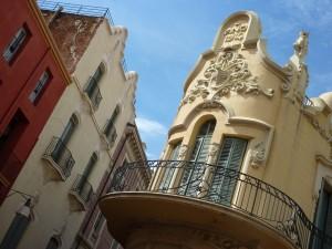 Modernista facades