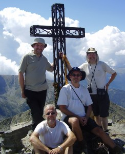 On a clear day the Mediterranean can be seen from the top of Canigou