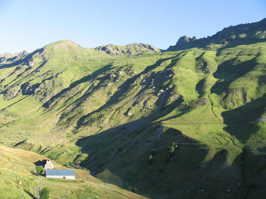 Près de Gedre, entre Gavarnie et Luz-St-Sauveur sur GR10