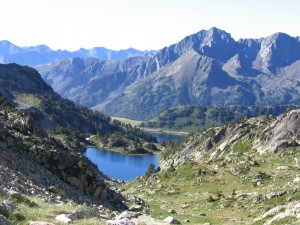 Lac d'Aubert in the Néouvielle National Park