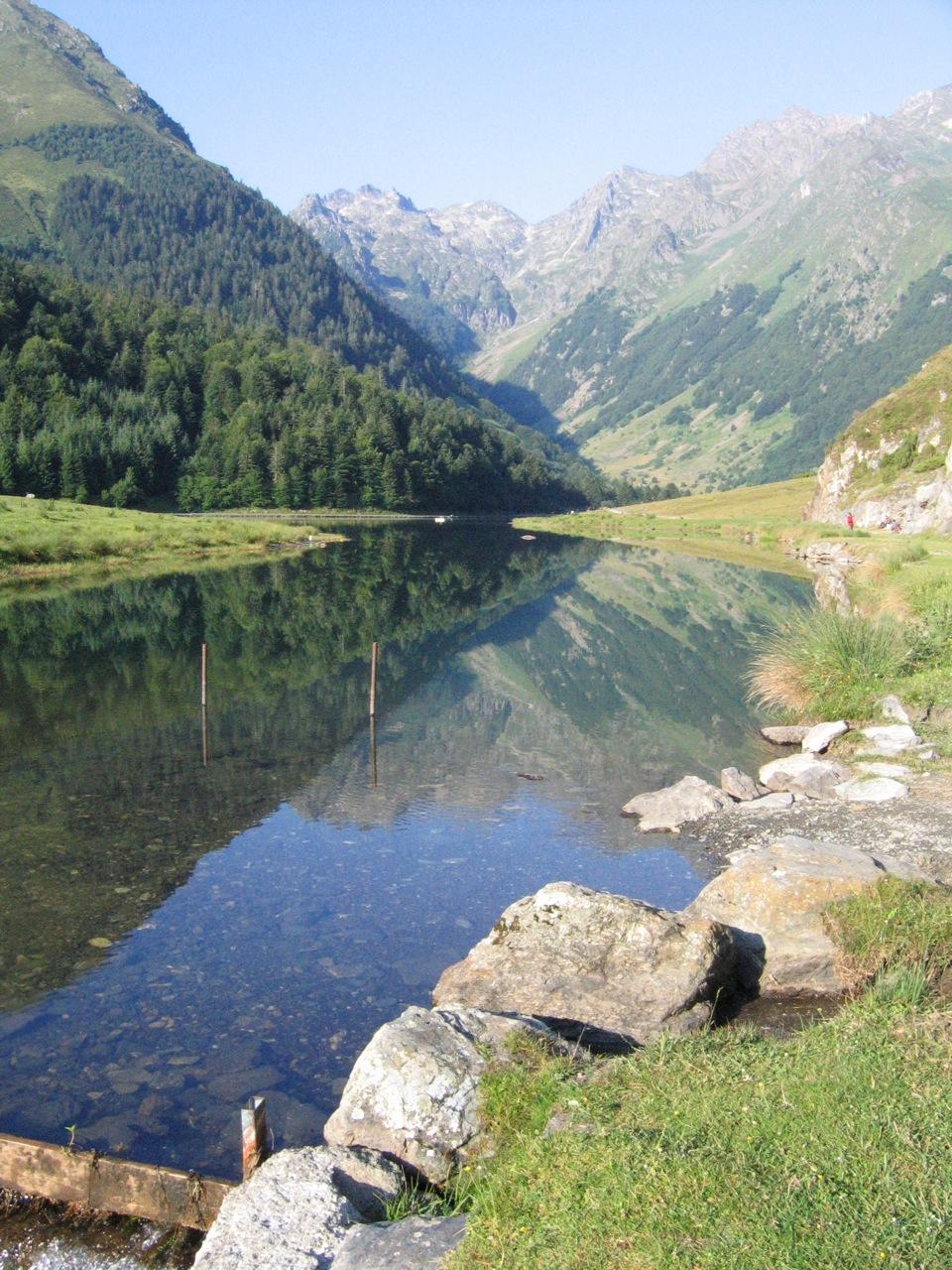Lac d'Estaing (« estaing » voulant dire « lac », nous retrouvons ici un bon exemple de la tautologie pyrénéenne)