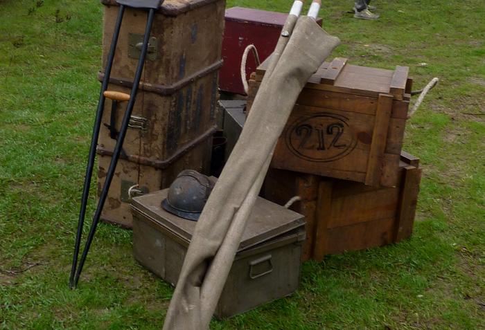 Reliques du Secteur Postal 212 sur le Chemin des Dames dans le Verdun