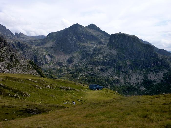 Refuge du Rulhe dans l'Ariège