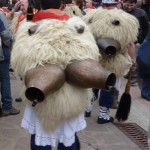Joaldunak et leurs cencerros
