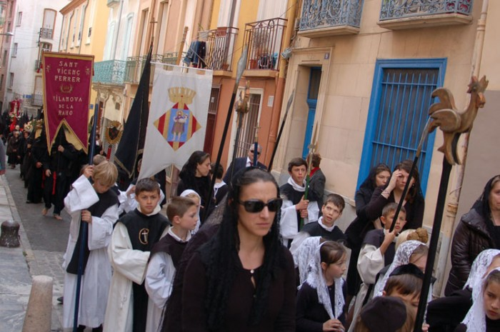 The Sanch procession in Perpignan
