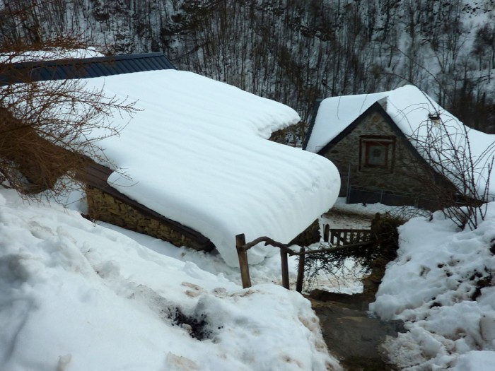 Esbintz sous la neige, février 2012