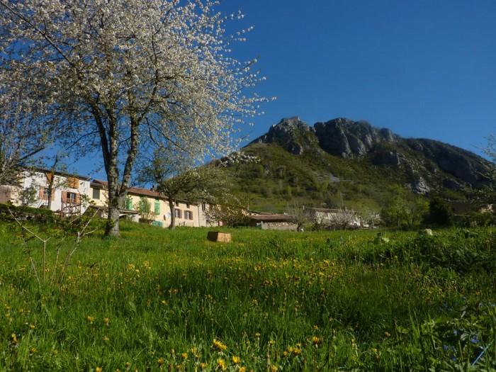 Le village de Montségur et son château