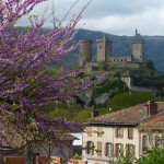 The town of Foix, once a hotbed of Catharism
