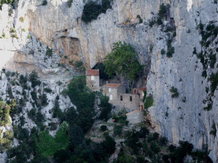 Hermitage of St. Anthony, Gorges de Galamus (photo: Terry Cudbird)
