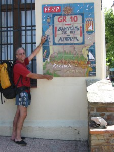 At Banyuls, at the Catalan end of the GR10