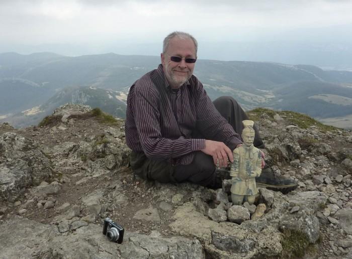 Sa passion pour la randonnée a emmené Steve sur le très médiatique Pic de Bugarach