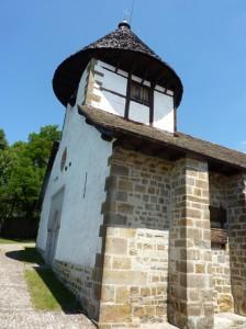 Chapelle de Notre dame de Muskilda, juste avant d'arriver à Otsagabia