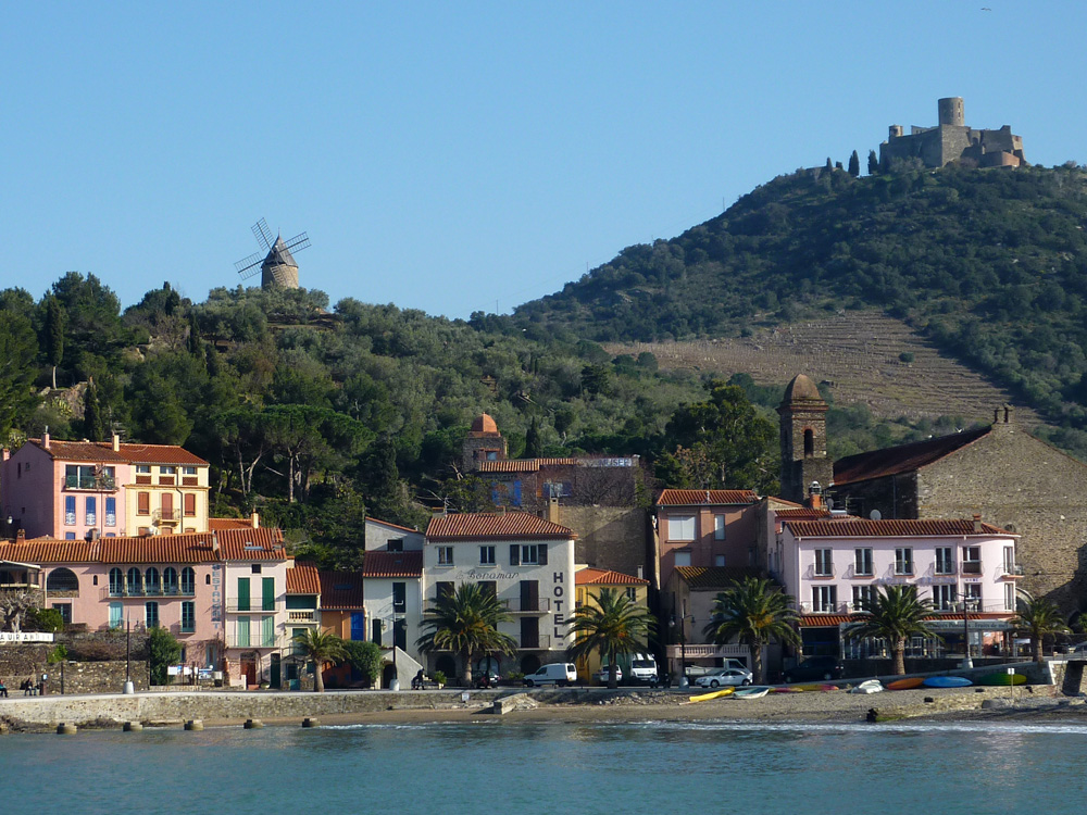 Postcards Of Collioure Walking The Pyrenees