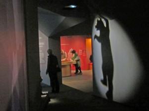 The entrance to the bear's den