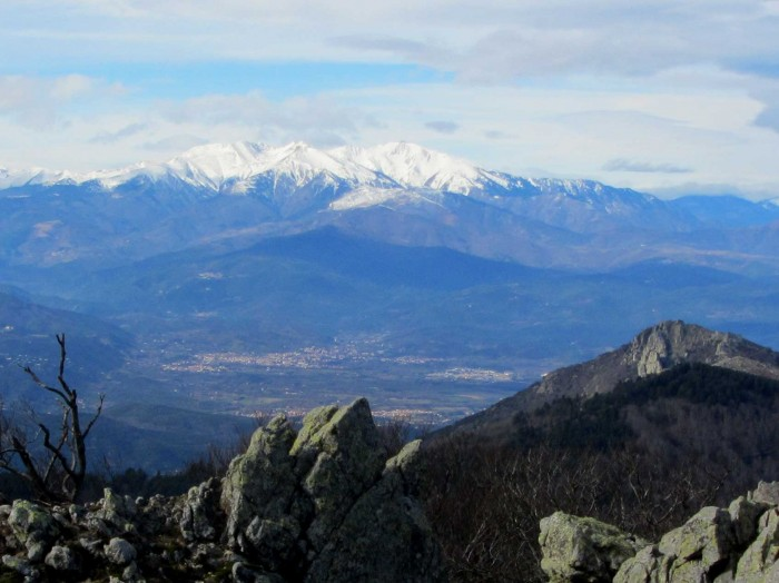 Canigou seen from Pic Neulós