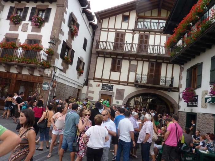 Fiesta in Elizondo