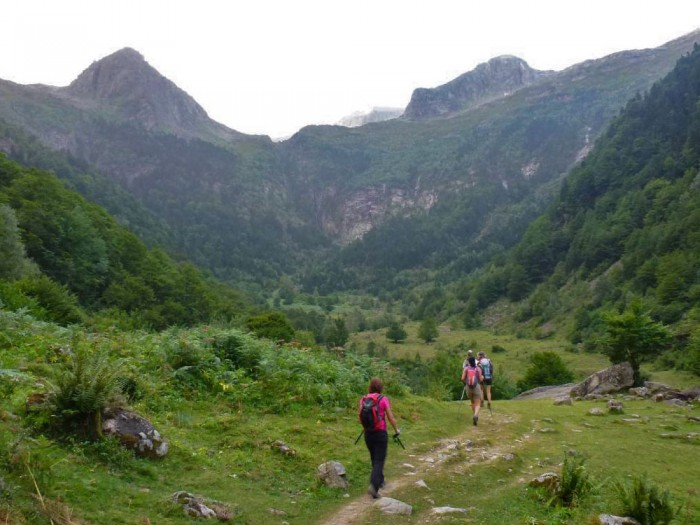The Cirque de Cagateille in the Ariège where the ibex were released