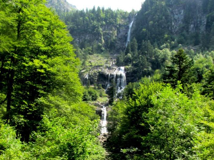 Cascade-d'Ars near to Aulus-les-Bains