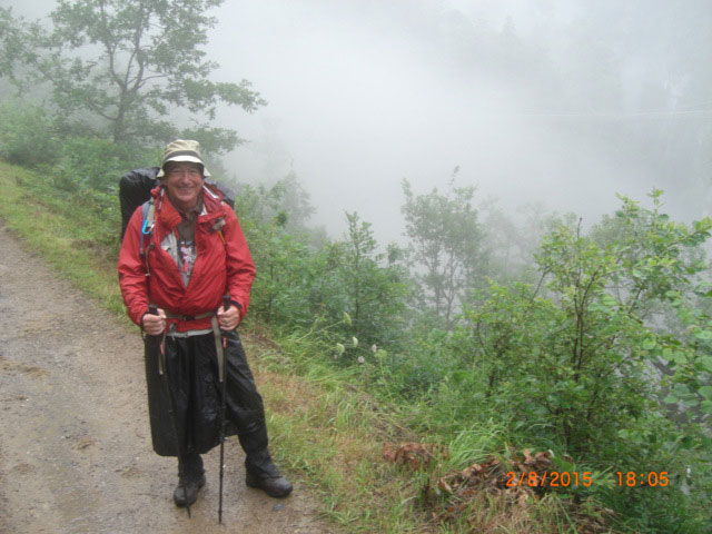In the mist on the GR10
