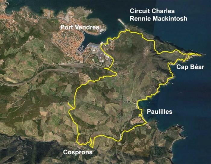 Topo de randonnée du Cap Béar