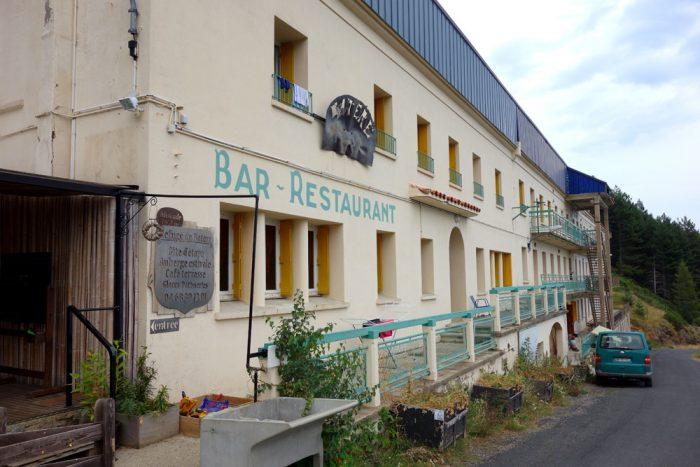 Batère hostel on the GR10