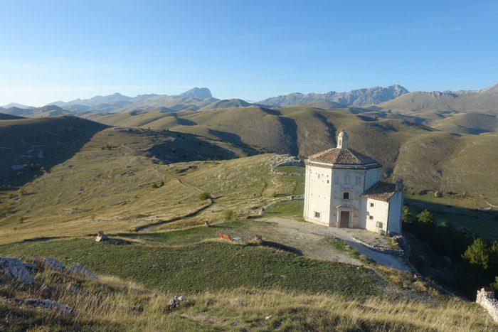 View from Roca Calascio castle
