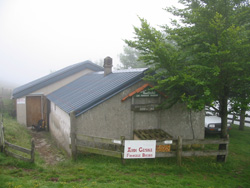 a cayolar (shepherd's hut) in the Pyrenees, on the GR10