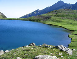 Lac d'Anglas between Gabas and Gourette on the Pyrenean Way (GR10)