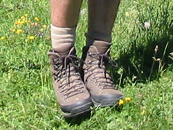 walking boots, as seen on the Pyrenean Way