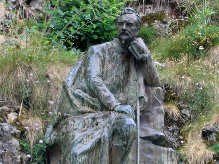 Henry Russell à l'éntrée de Gavarnie